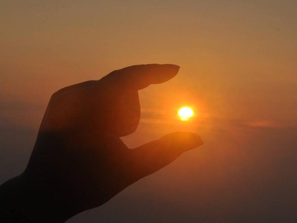 小小的太阳